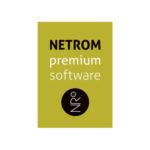 NETROM Logo design by Myrthe Koppelaar